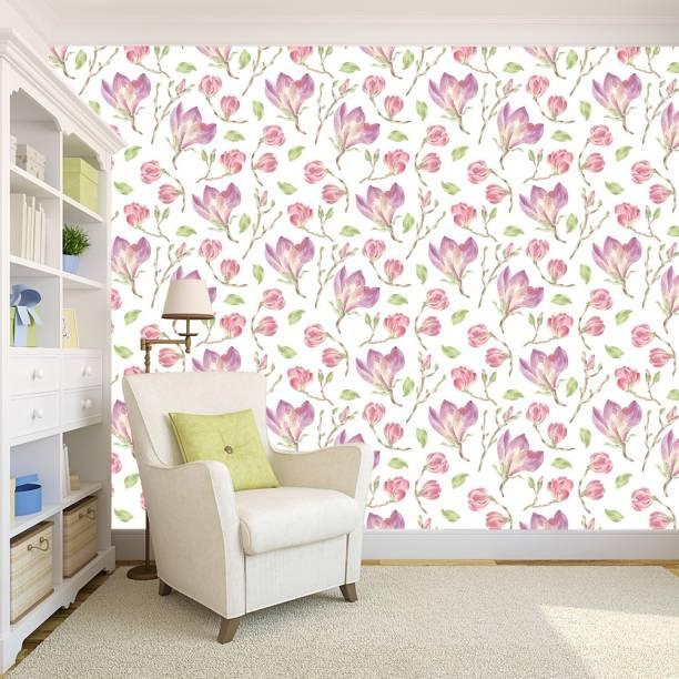 100yellow Floral & Botanical Wallpaper