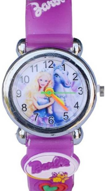 Arihant Retails Barbie Kids Watch AR 18 Also Best For Birthday Gift And Return