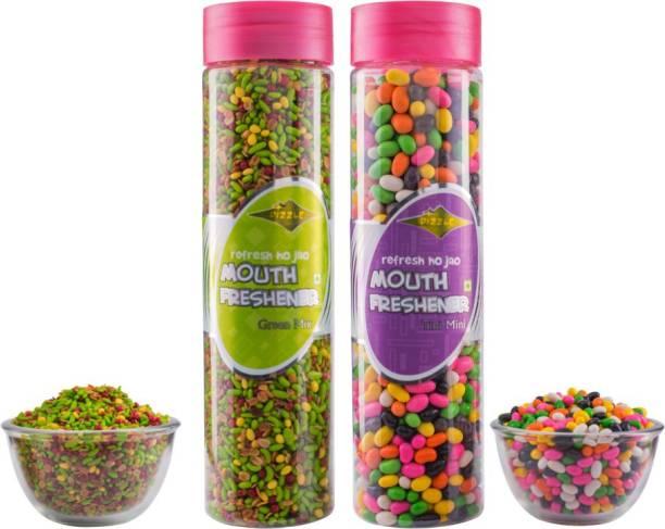 DIZZLE Green Mix Tini Mini Combo 465 g Fruit-flavored Mint, Mint Mouth Freshener