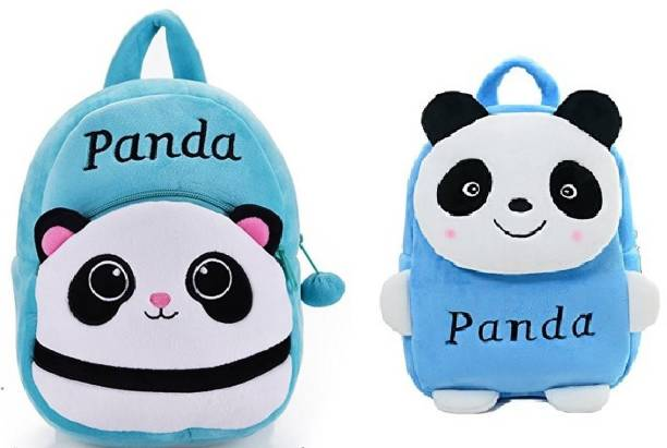 Frantic Best Skyblue Panda and New Sky Blue Panda Kids School Bag for Kids 85560ef783a86