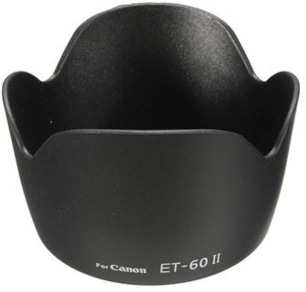 SS Camera Flower Lens Hood for Canon Eos Camera Lens Et 60 Replacment 18-55Mm 55-250Mm  Lens Hood