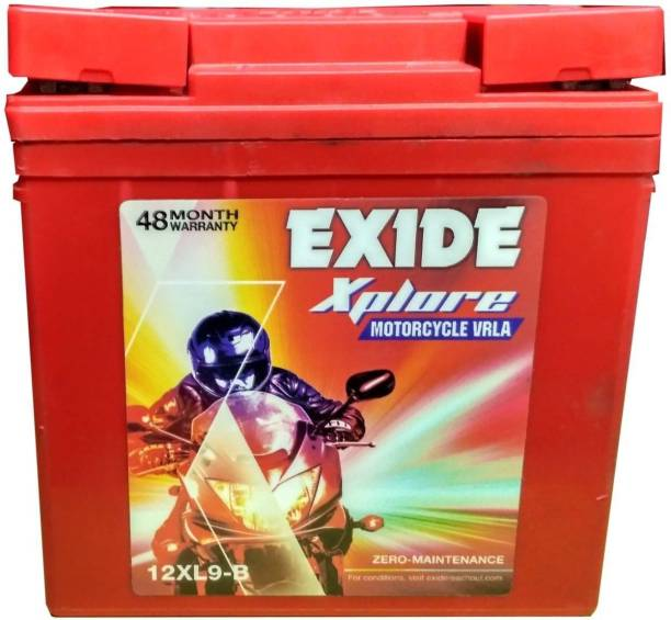 EXIDE Xplore 12XL9-B 9 Ah Battery for Bike