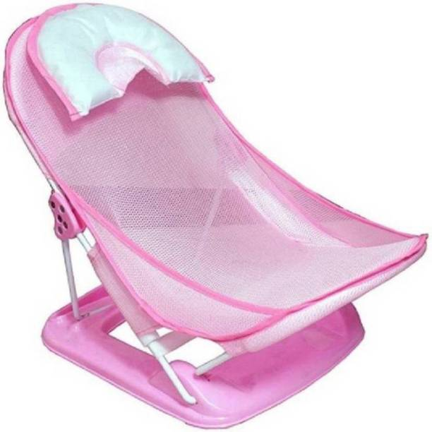 Chote Janab Baby Bather with Removable Head Support Cushion Infant Bath Aid Todler Baby Bath Seat