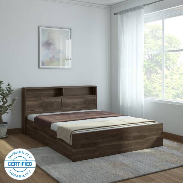 Hometown Alyssa Engineered Wood King Box Bed