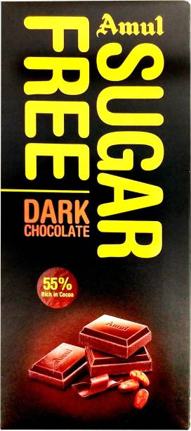 Amul Sugar Free Dark Chocolate Bars