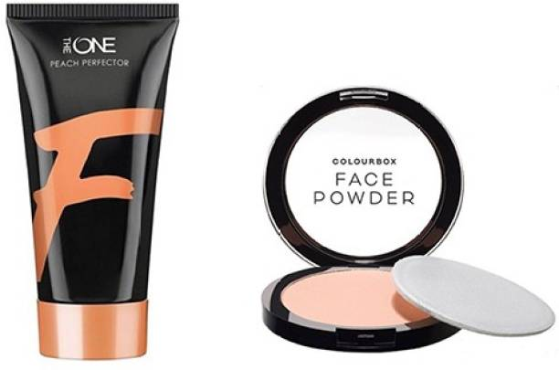 Oriflame Sweden COMBO-COLOR BOX POWDER & THE ONE PEACH PERFECTOR