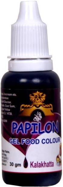 PAPILON Concentrated Gel Food Colour : KALAKHATTA 30GM Purple