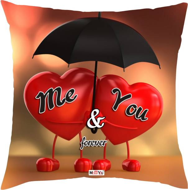 MEYOU Quote Printed Decorative Cushion Pack
