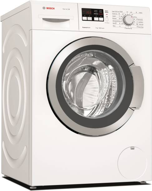 BOSCH 7 kg ExpressWash Fully Automatic Front Load with In-built Heater White
