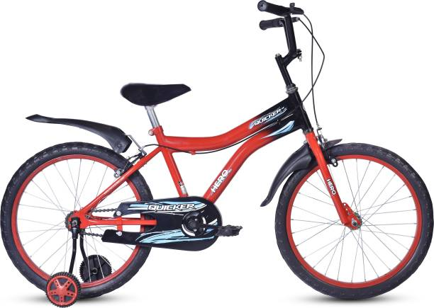 Hero Quicker 20T 20 T Road Cycle Single Speed, Red