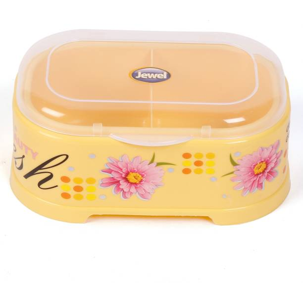 JEWEL Compliments Box 2 Yellow  - 400 ml Plastic Grocery Container