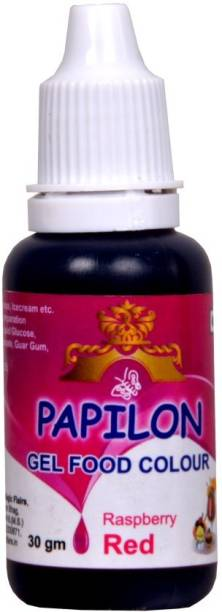 PAPILON Concentrated Gel Food Colour : PINK 30GM Red