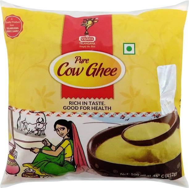 VIJAYA Pure Cow Ghee 500 ml Pouch