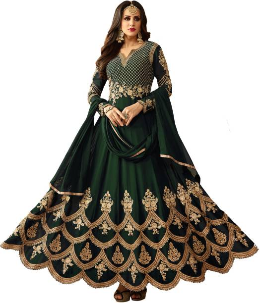 Green Gowns - Buy Green Gowns Online at Best Prices In India ...