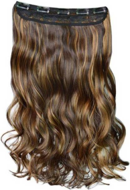 PEMA Golden Highlighting Curly Hair Extension