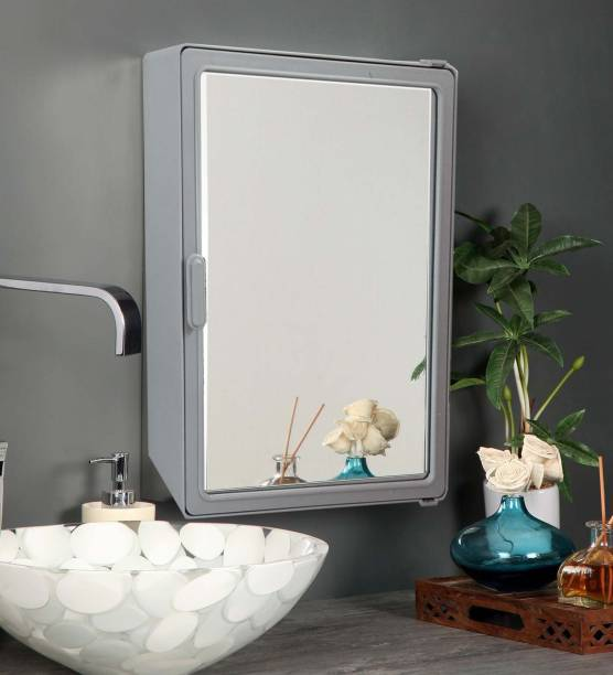 Zahab Hifi Grey 12x16 Surface Mounting Medicine Cabinet