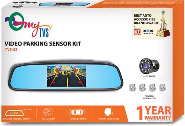 MYTVS TVS-52 TVS-52 Video Reverse Parking Sensor with Distance Reading Voice - Silver Parking Sensor