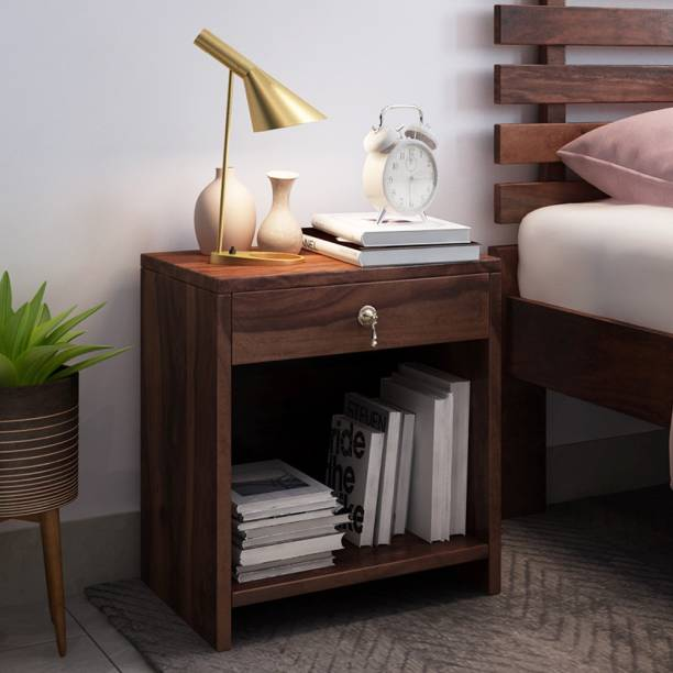 80b7a91fa59 Discount. Alquiler Vilnius Solid Wood Bedside Table