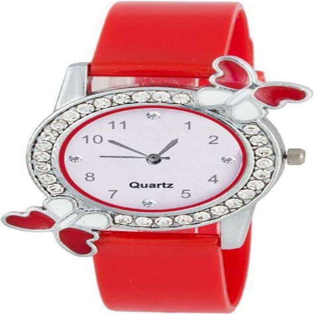1a1c3e512171 parekh enterprise new full red butterfly watch for girls and women Watch -  For Women
