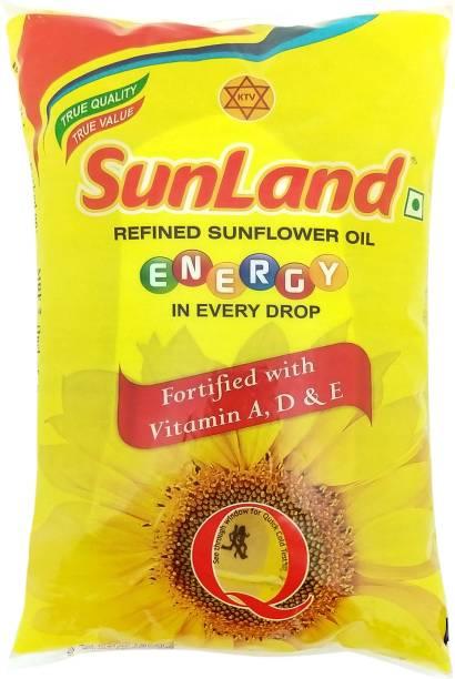 Sunland Refined Sunflower Oil Pouch