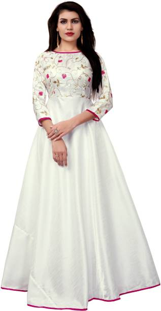 White Gowns - Buy White Gowns Online at Best Prices In India ...