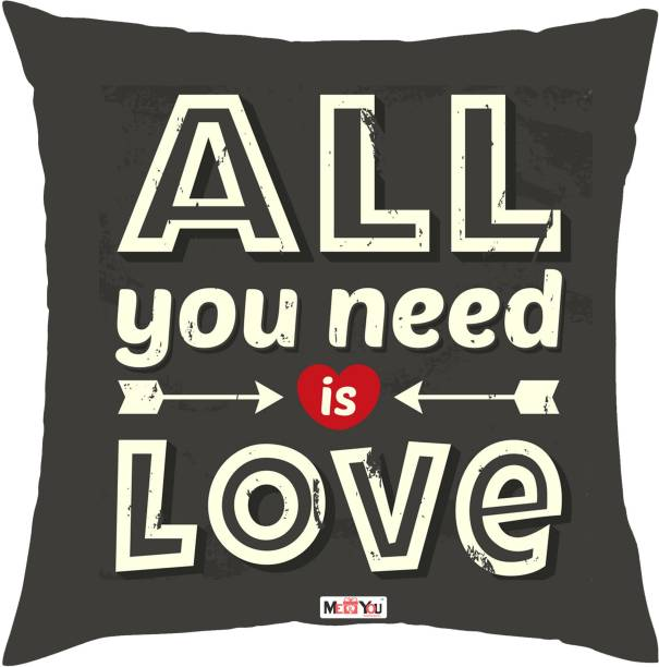 07aeffc1f0 ME YOU Quotes Printed Decorative Cushion Pack ...