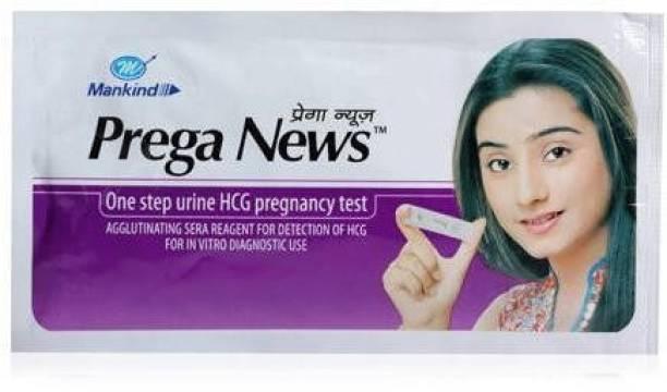 PREGANEWS set of 5 Digital Pregnancy Test Kit