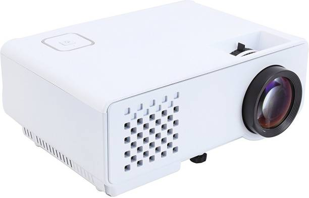 Rigal RD-810 LED with HDMI,VGA,AV, USB White Projector