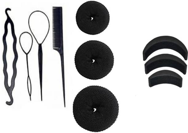 NERR hair accessories /10p/c combo set / hair accessories / Hair Accessory Set (Black) Hair Accessory Set