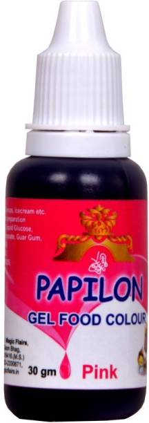 PAPILON Concentrated Gel Food Colour : PINK 30GM Pink