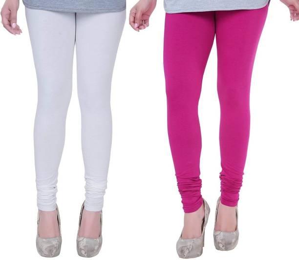7bdd571b568e37 White Leggings - Buy White Leggings Online at Best Prices In India ...