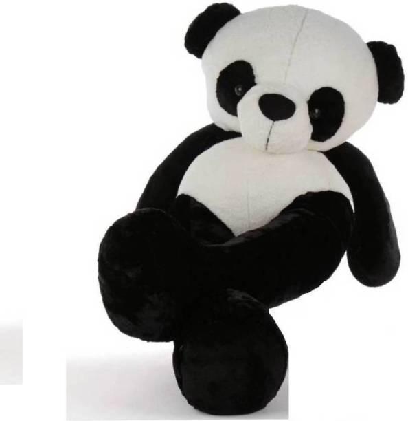 TEDDYIA 5 Feet Panda Very Beautiful High Quality Huggable Cute Panda Teddy Bear Valentine & Birthday Gifts Lovable Special Gift  - 150.004 cm