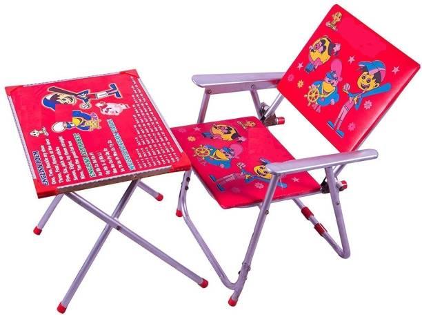 TUKTUK Multipurpose Foldable Table Chair Set Metal Desk Chair