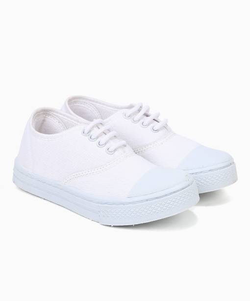 5f4bdc4adcf55 White School Shoes - Buy White School Shoes Online at Best Prices In ...
