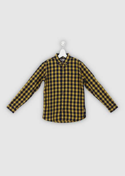4c9af4b65 Yellow Shirts - Buy Yellow Shirts Online at Best Prices In India ...