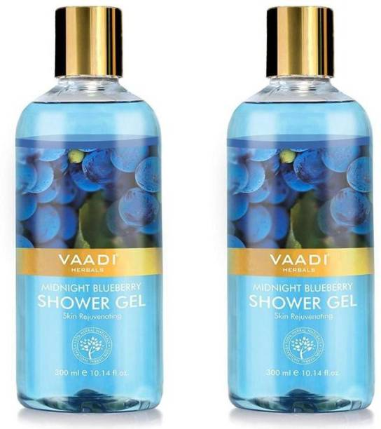 VAADI HERBALS Midnight Blueberry Shower Gel (300 ml x 2)