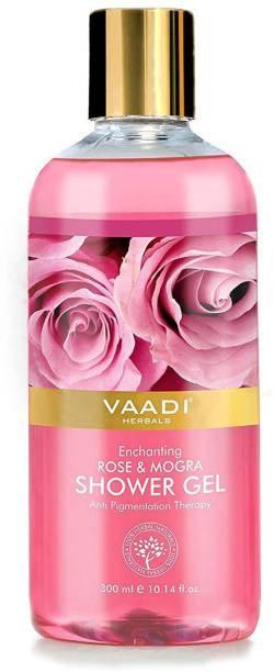 VAADI HERBALS Enchanting Rose & Mogra Shower Gel (300 ml)
