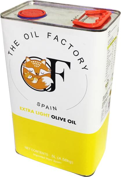 The Oil Factory Extra Light Olive Oil Tin