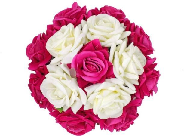 Bridal hair accessories buy bridal hair accessories online at best aasa artificial gajra flower for women bun hair accessories gajra for juda girls wedding hair gajra mightylinksfo