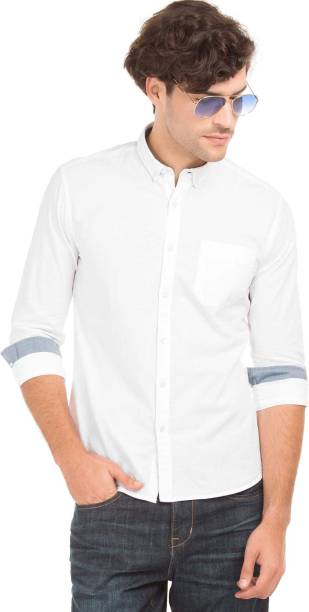 ded976b513df8 Flying Machine Casual Party Wear Shirts - Buy Flying Machine Casual ...