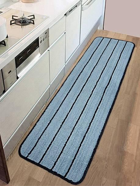 Saral Home Light Blue 120 cm Table Runner