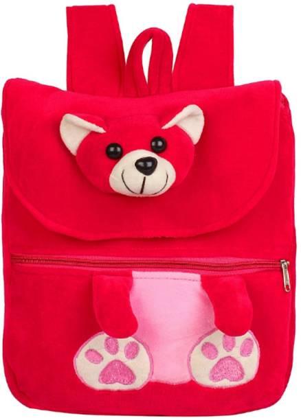 3c37ebc168a1 MINITREES Cute Pink Teddy Kids School Nursery Picnic Carry Travelling Bag