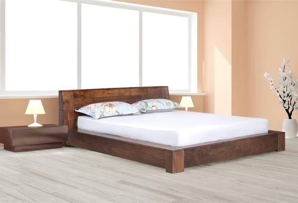 @Home by nilkamal Amelia Solid Wood King Bed