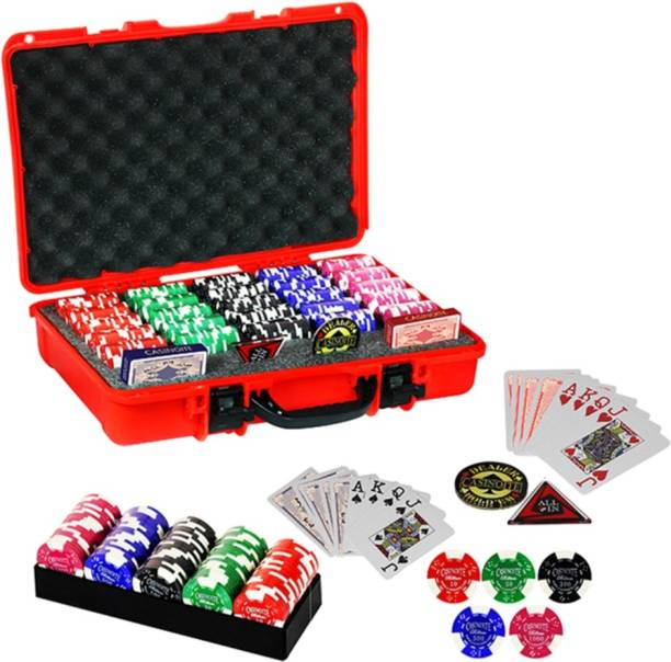 Casinoite POKER CHIPS SET CLAY BILLIUM 500