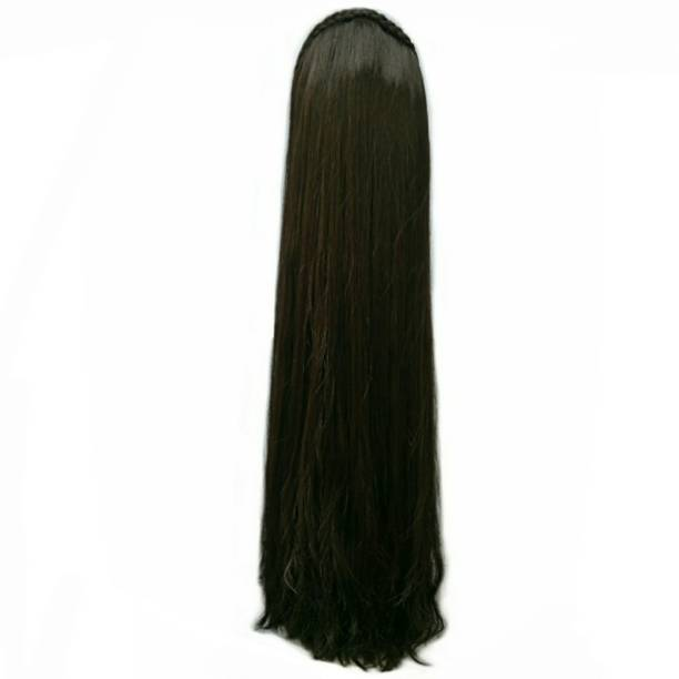 Rizi Lovely long hair for traditional dresses half head covering Hair Extension