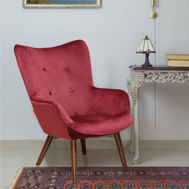 @Home by nilkamal LEISURE Metal Living Room Chair