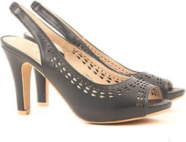 4791a24740b745 Miss CL By Carlton London Women BLACK Heels