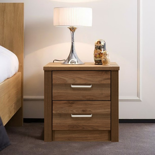 Delicieux @home By Nilkamal Leaf Engineered Wood Bedside Table