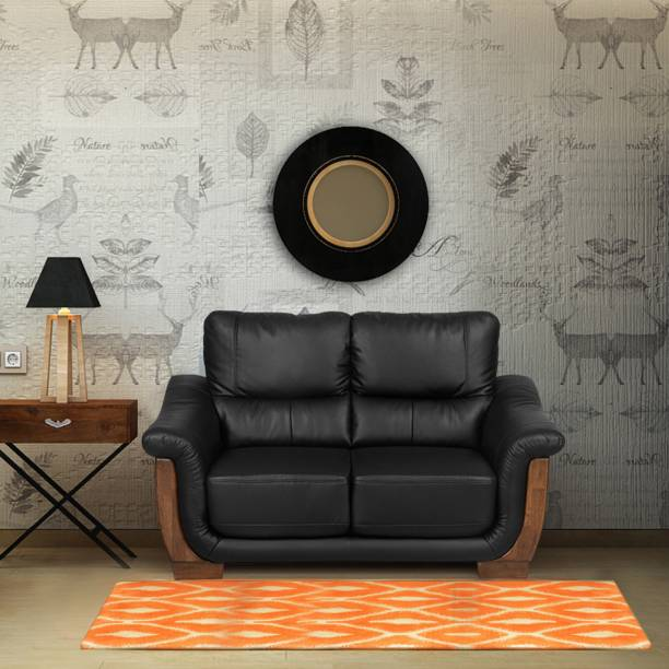 @Home by nilkamal Brooks Fabric 2 Seater  Sofa