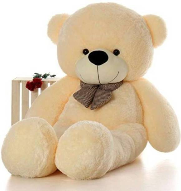 Mrbear Cute Bootsy Creem 122 Cm 4 feet Huggable And Loveable For Someone Special Teddy Bear  - 122 cm
